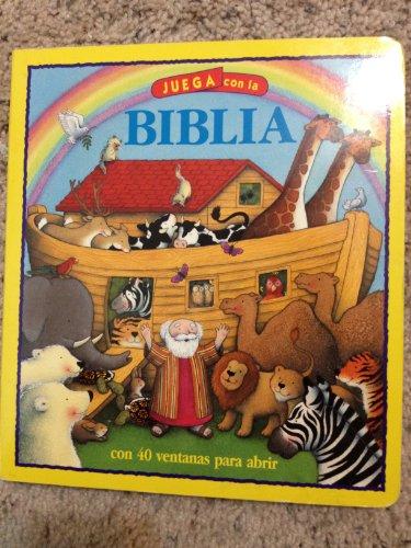 9788428522816: Juega con la Biblia (Lift the flap Bible) con 40 ventanas para abrir (Pequelibros Biblicos para jugar)