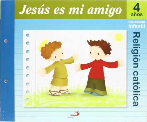 9788428529068: Proyecto Maná, Jesús es mi amigo, religión católica, Educación Infantil, 4 años: Educación Infantil. Libro del alumno - 9788428529068