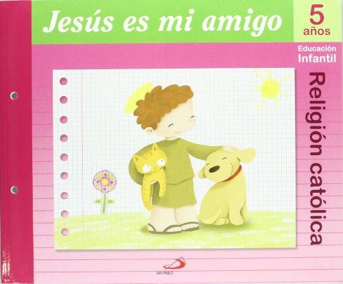9788428529075: Proyecto Maná, Jesús es mi amigo, religión católica, Educación Infantil, 5 años: Educación Infantil. Libro del alumno - 9788428529075
