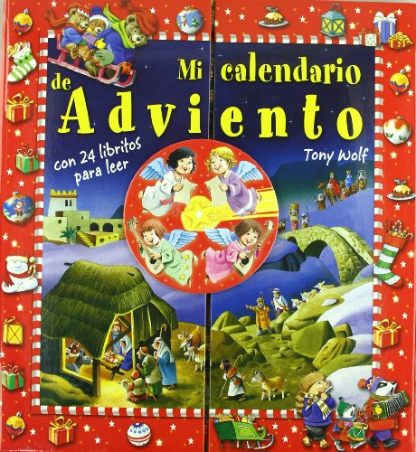 9788428529204: Mi calendario de Adviento