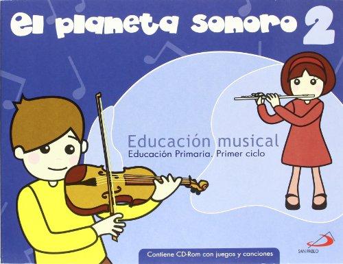 07).planeta sonoro 2o.prim.(libro+cd)/musica - García Santos, Gonzalo / Rovira Sanroque, Raquel