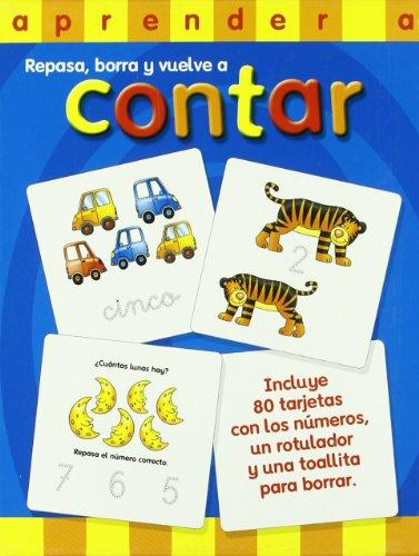 9788428532693: APRENDER A CONTAR.(REPASA,BORRA Y VUELVE CONTAR)