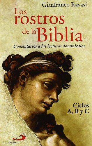 9788428533843: ROSTROS DE LA BIBLIA, LOS. A.B. Y C COMENTARIOS LECTURAS DOM