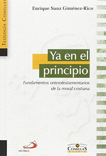 Ya En El Principio - Sanz Giménez-Rico, Enrique