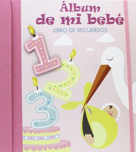9788428542524: Álbum de mi bebé: Libro de recuerdos. ROSA (Mi familia y yo)