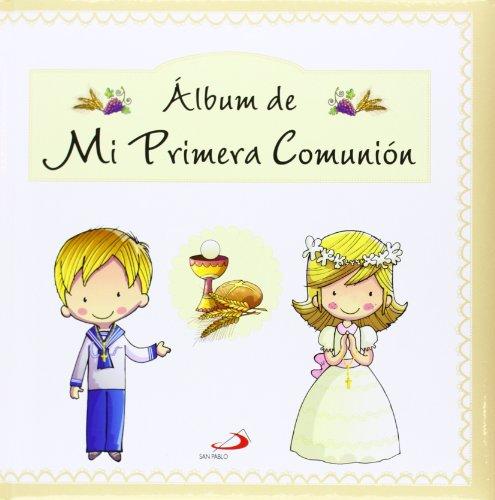 9788428543965: ALBUM MI PRIMERA COMUNION S.PABLO
