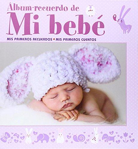 Álbum recuerdo de mi bebé (rosa) (Mi
