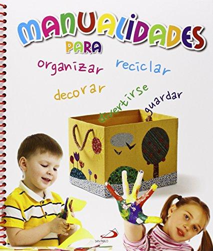 9788428545044: Manualidades para organizar, decorar, guardar y divertirse