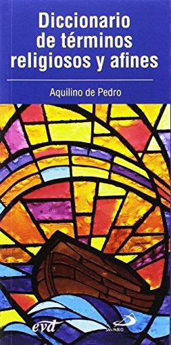9788428545969: Diccionario de términos religiosos y afines
