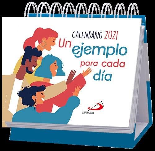 9788428558990: Calendario de mesa Un ejemplo para cada día 2021 (Calendarios y Agendas)