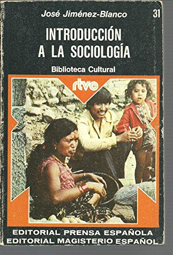 Introducción a la sociología: José Jiménez-Blanco