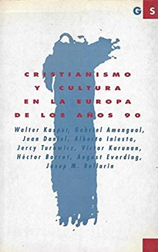 9788428811064: Cristianismo y cultura en la Europa de los años 90