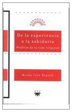 9788428815352: De la experiencia a la sabiduría: Profecía de la vida religiosa (Sembradores)