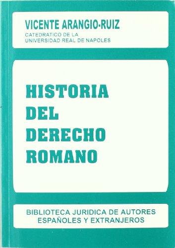 9788429012125: Historia del Derecho romano
