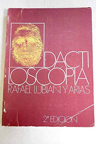 9788429012354: Dactiloscopia (Spanish Edition)