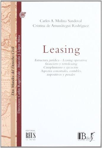 9788429014648 Leasing Estructura Juridica Leasing