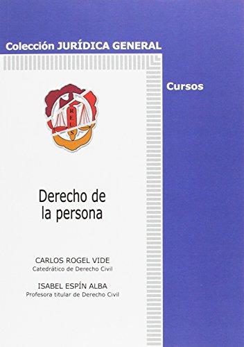 9788429015171: derecho_de_la_persona