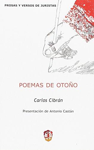 9788429015584: Poemas de otoño (Prosas y versos de juristas)