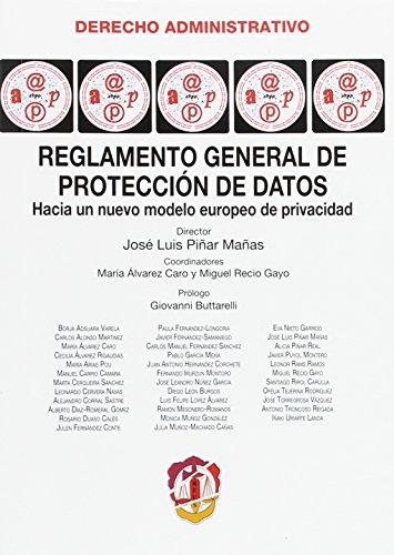 Reglamento general de protección de datos: Recio Gayo, Miguel