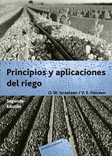 Principios Y Aplicaciones Del Riego (Israelsen) (Spanish