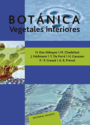 9788429118131: Botánica. Vegetales inferiores (Spanish Edition)