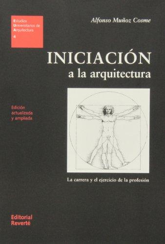 9788429121049: Iniciación: a la Arquitetura