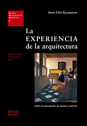 The experience of architecture (Spanish Edition) (8429121056) by Rasmussen