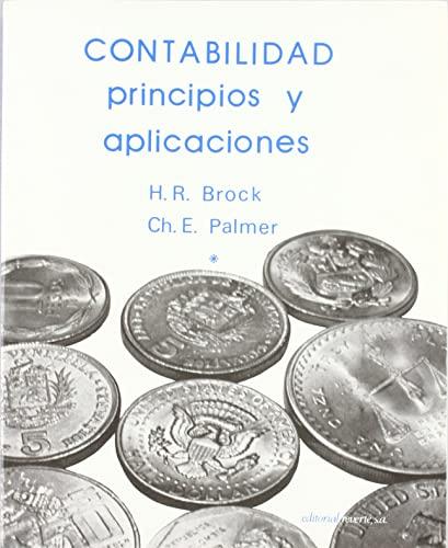 9788429126372: CONTABILIDAD PRINCIPIOS Y APLICACIONES