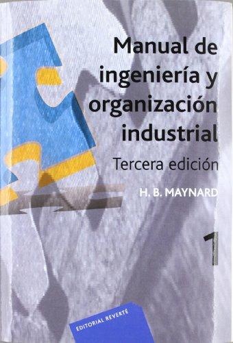 9788429126792: Manual de ingeniería y organización industrial