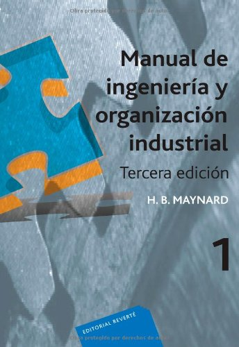 9788429128000: Manual de ingeniería y organización industrial: 3