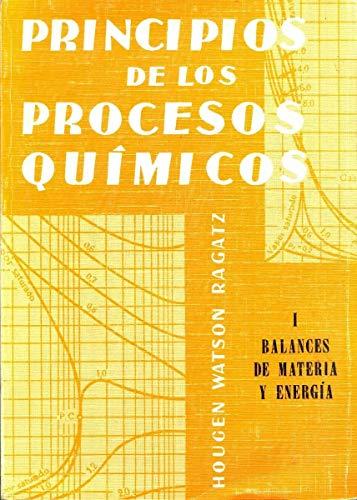 9788429140507: Principios de los procesos quÝmicos