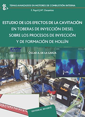 9788429147223: ESTUDIO DE LOS EFECTOS DE LA CAVITACION EN TOBERAS DE INYEC