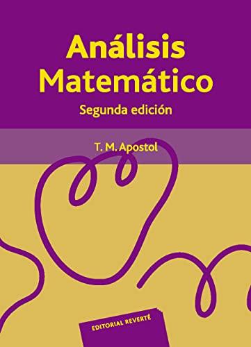 9788429150049: Análisis matemático (Spanish Edition)