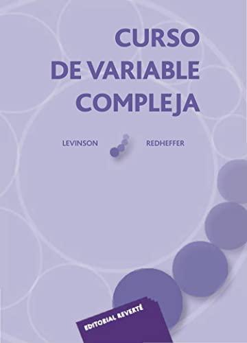 Curso de variable compleja: Levinson, Norman/Redheffer, R.