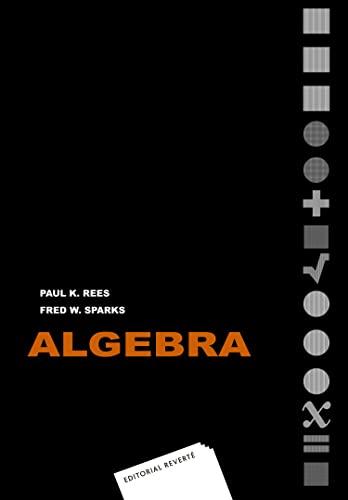 9788429151114: Álgebra