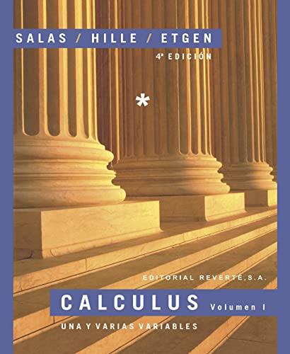 9788429151572: Calculus - Tomo I (Spanish Edition)