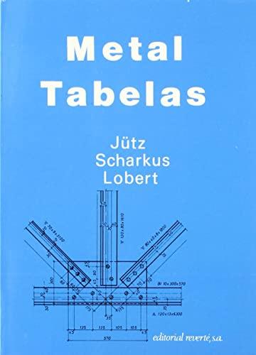 9788429160598: METAL TABELAS