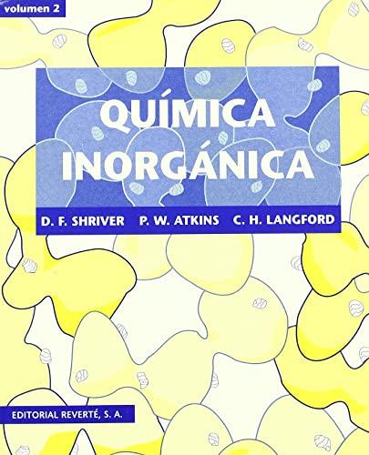 9788429170054: Quimica Inorganica - Volumen 2 (Spanish Edition)