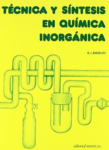 9788429170184: TECNICA Y SINTESIS EN QUIMICA INORGANICA