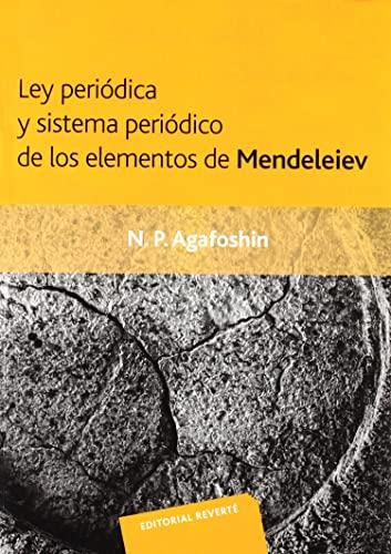 9788429170214: Ley Periódica Y Sistema Periódico De Los Elementos De Mendeleiev