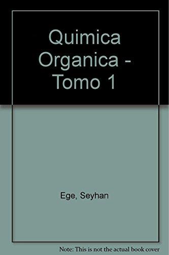 9788429170634: Química orgánica tomo 1