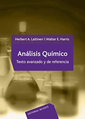 9788429173246: ANALISIS QUIMICO TEXTO AVANZADO REF