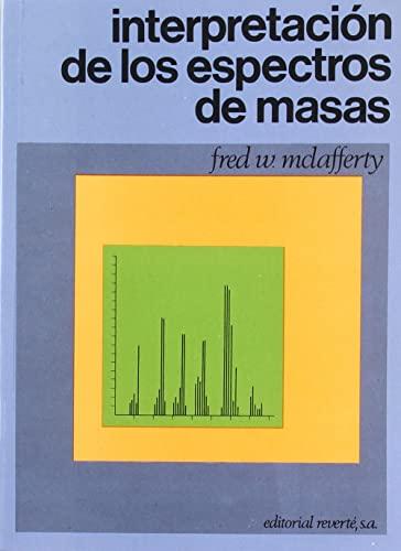 9788429173703: Interpretación de los espectros de masas