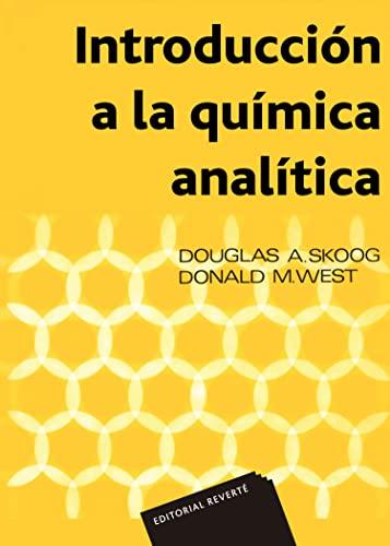 9788429175110: Introducción a la química analítica (Spanish Edition)