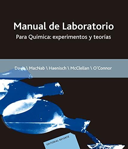 9788429175608: Química. Manual De Laboratorio