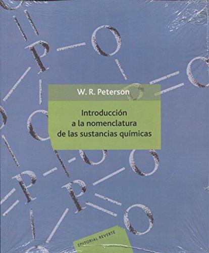 9788429175721: Introducción a la nomenclatura de las sustancias químicas