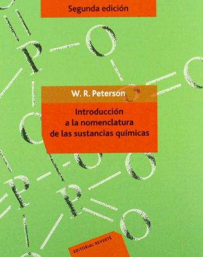 9788429175738: Introducción a la nomenclatura de las sustancias químicas: (2ª ed. original)
