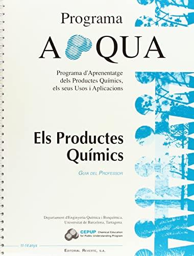 9788429175851: Els productes quimics. Guia del profesor