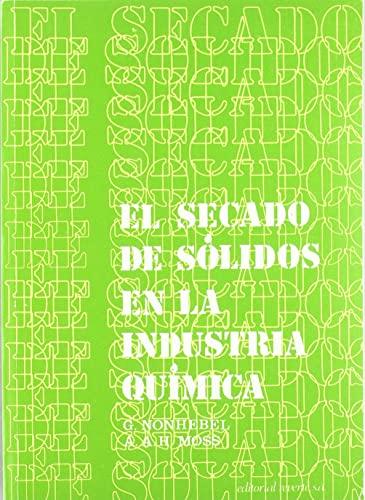 9788429179668: EL SECADO DE SOLIDOS EN LA INDUSTRIA QUIMICA