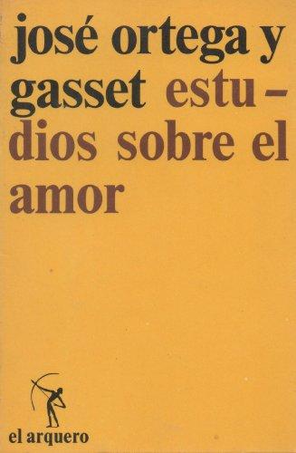 9788429210132: Estudios sobre el amor